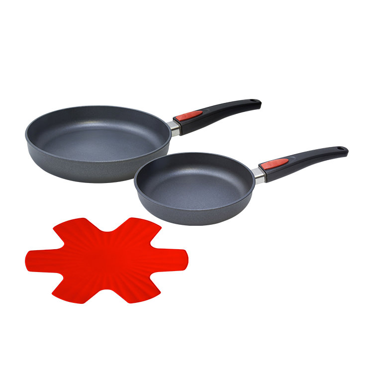 Woll Diamond Lite 2pc Frypan Set 20cm & 28cm with Pan Protector