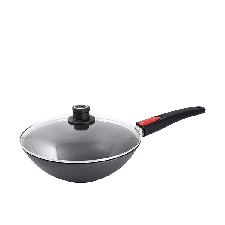 Woll Diamond Lite Induction Wok with Lid 30cm