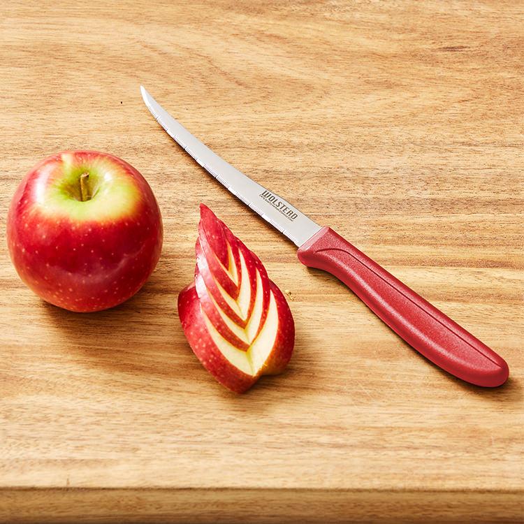 Wolstead Shapu Vegetable Paring Knife 11cm Red
