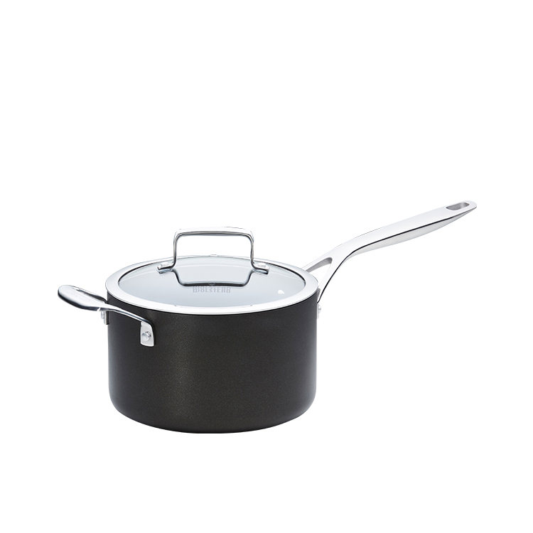 Wolstead Superior+ Saucepan with Lid and Helper Handle 20cm - 3.8L