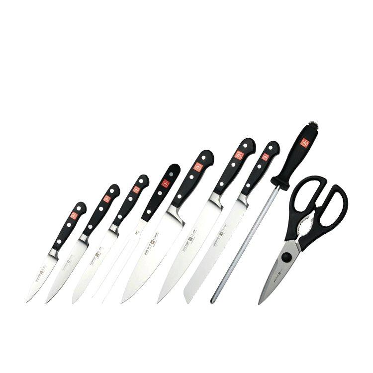 Wusthof Classic 10pc Knife Block Set image #2