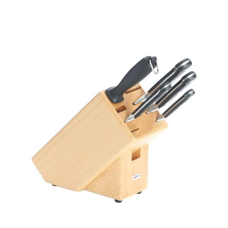 Wusthof Classic 6pc Knife Block Set