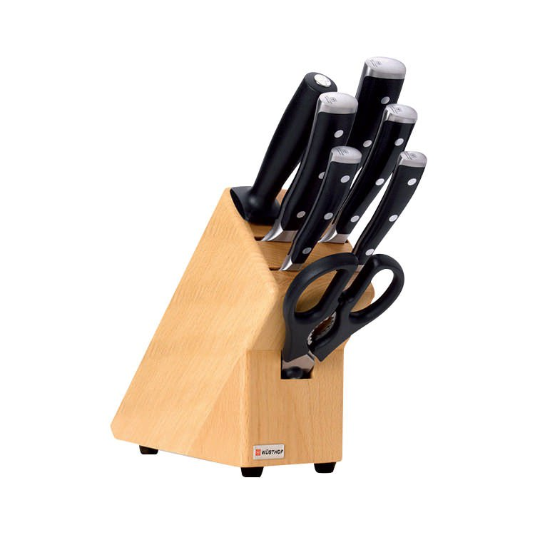Wusthof Classic Ikon 8pc Knife Block Set