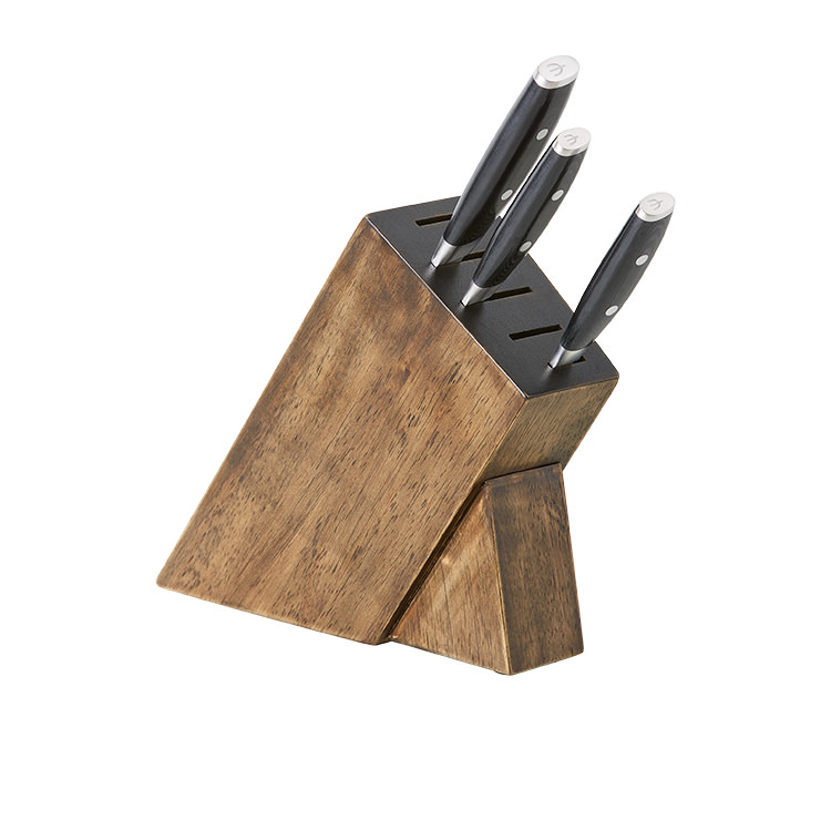 Yaxell Mon 4pc Knife Block Set