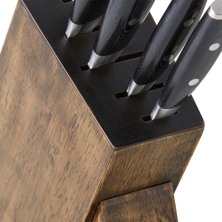 Yaxell Mon 6pc Knife Block Set