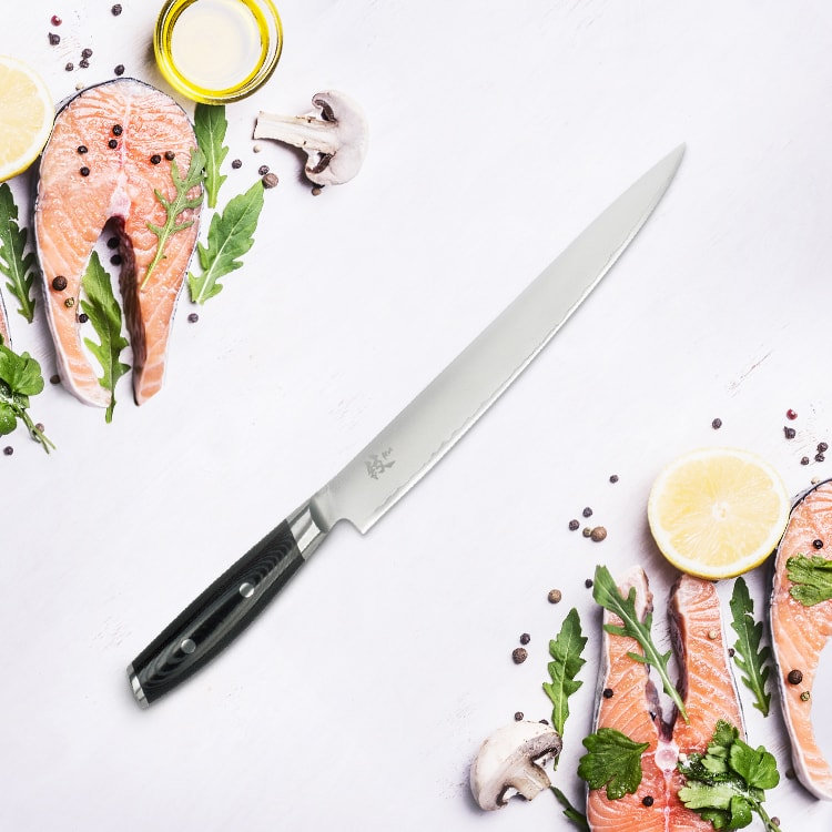Yaxell Mon Slicing Knife 25.5cm