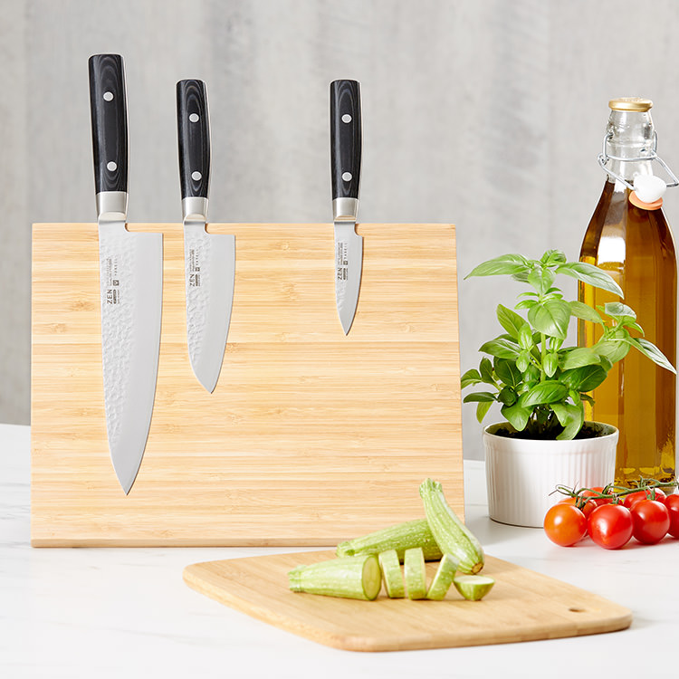 Yaxell Zen 4pc Knife Block Set