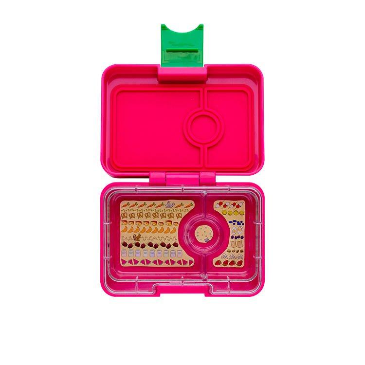 Yumbox Mini Snack Box Cherie Pink