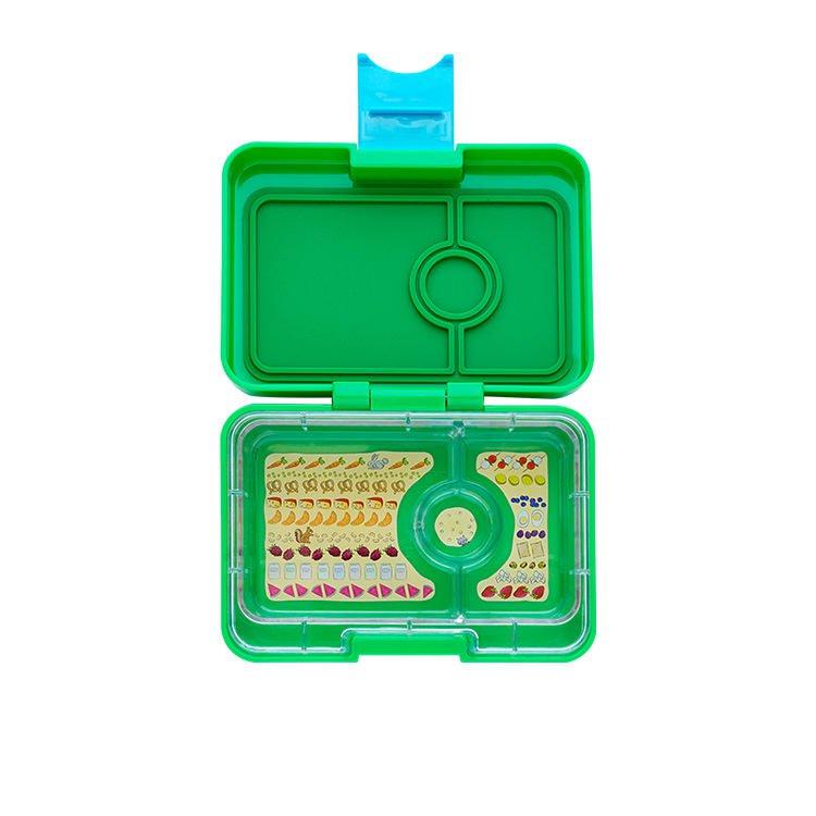 Yumbox Mini Snack Box Ami Green
