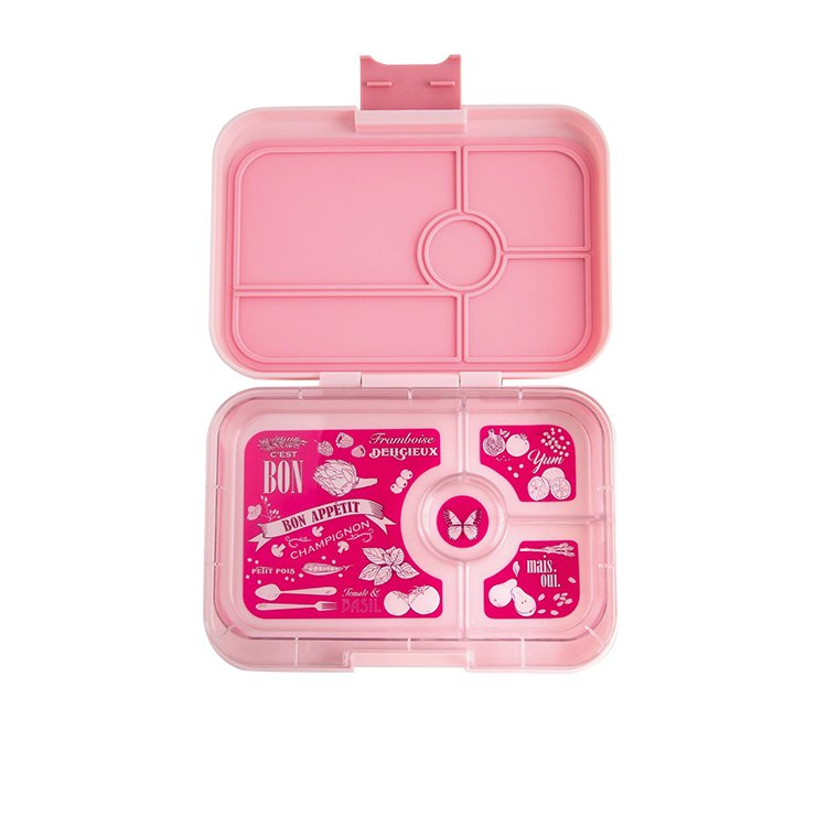 Yumbox Tapas 4 Compartment Amalfi Pink