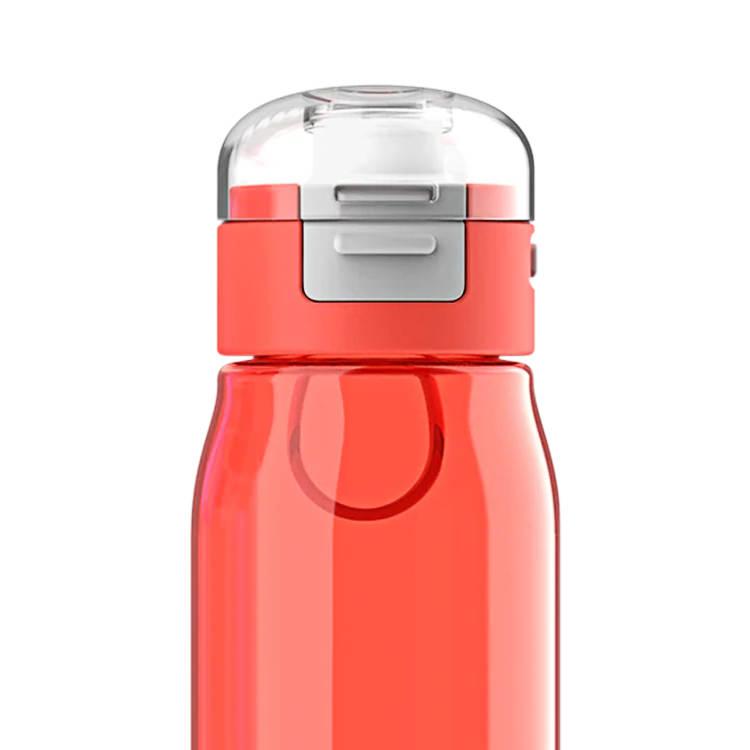 Zoku Flip Gulp Kids Bottle 475ml Red