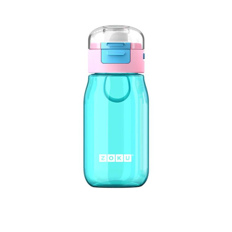 Zoku Flip Gulp Kids Bottle 475ml Teal