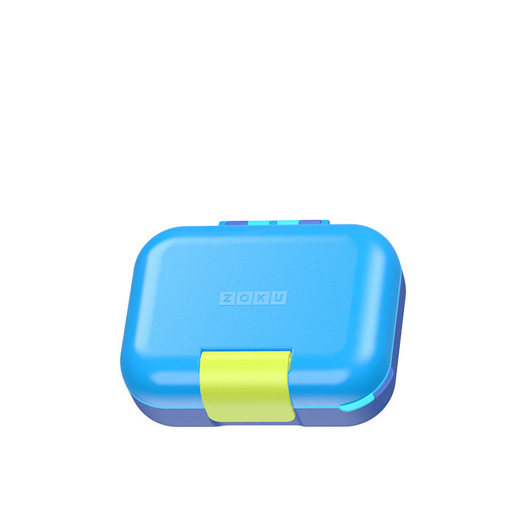 Zoku Neat Bento Junior Lunchbox Blue