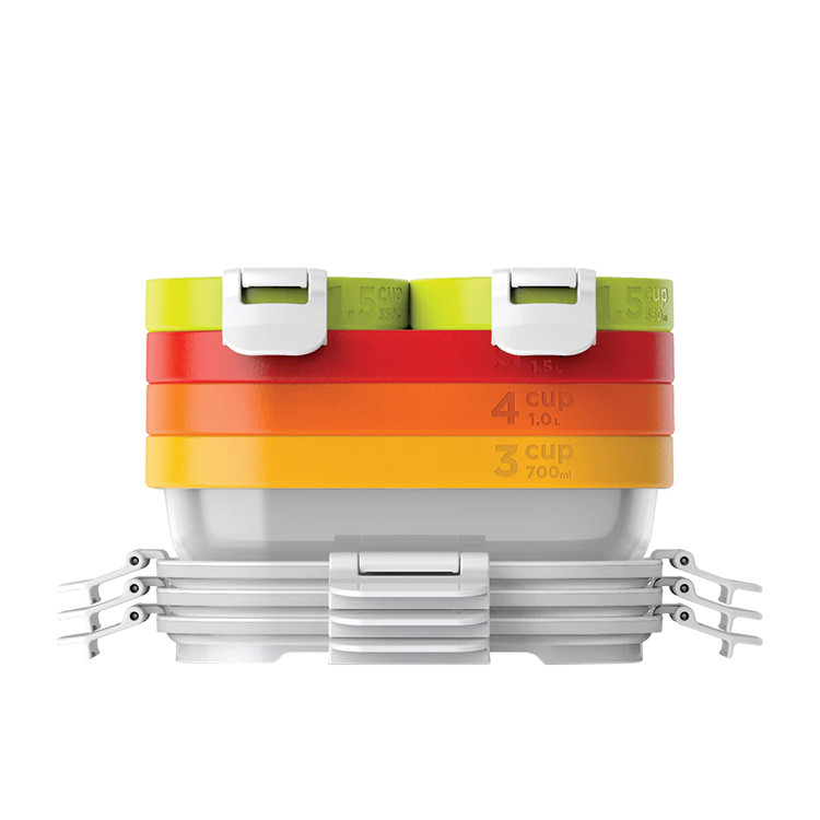 Zoku Neat Stack Lunch Container Set 11pc
