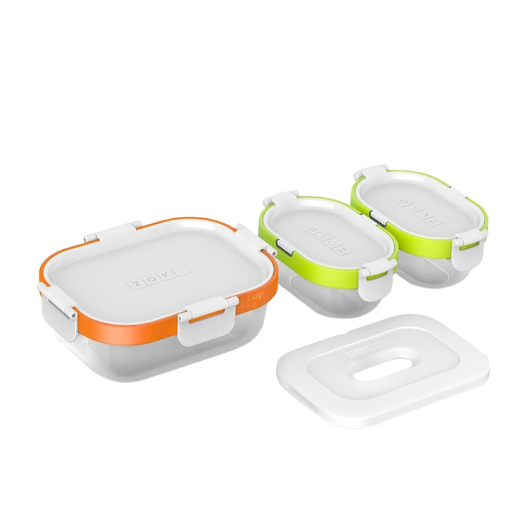 Zoku Neat Stack Lunch Container Set 7pc