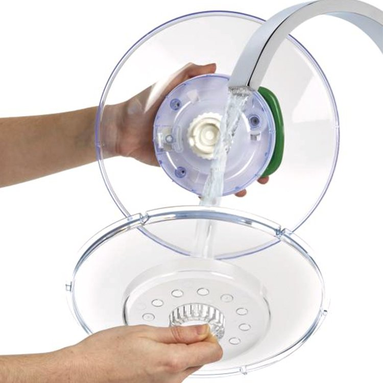 Zyliss Easy Spin Large Salad Spinner White