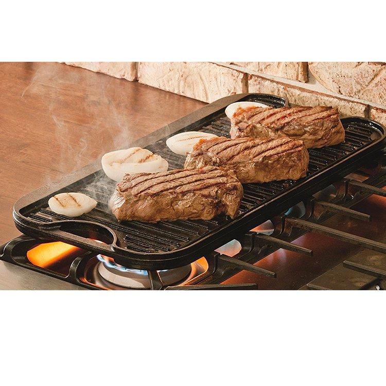 Lodge Cast Iron Reversible Grill 51x27cm image #4