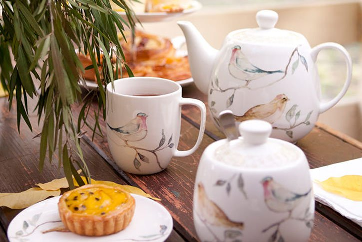 how to prepare a senior tea party