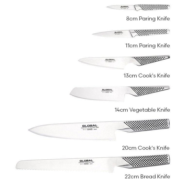 01ca88f5a Global Ikasu 7pc Knife Block Set - Buy Now   Save!